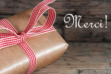 Rustic Gift with Merci