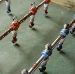 eingerosteter antiker Kicker