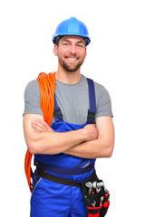 Handwerker/ Industriearbeiter - isoliert
