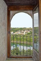 ventana paisaje