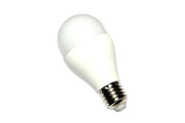 light led saving bulb isolated on white background