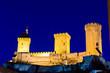 Castle of Foix in France
