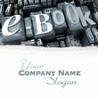 e-book in typescript close-up customizable