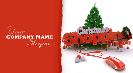 Christmas shopping online customizable