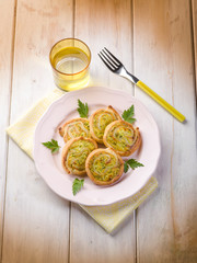 zucchinis canape