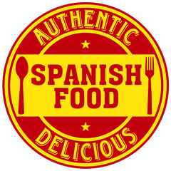 spanish food label