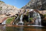 Cañón, cascadas y poza Río Tera. Cañón del Tera. Zamora. poster