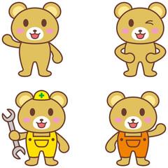 クマ キャラクター