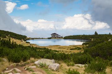 Lake near Bezbog ski station
