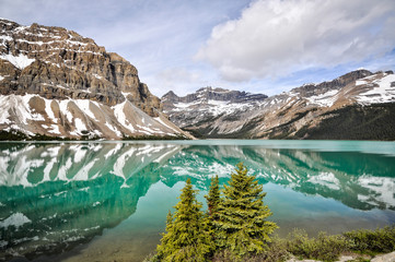 Icefields Parkway Reflections