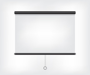 Projector blank screen