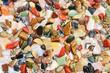 canvas print picture - Heilsteine Edelsteine poliert