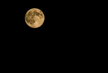 Full Moon which taken on 10 August 2014