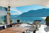 beautiful terrace of a penthouse - 70354856