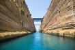 Mit dem Segelboot durch den Kanal von Korinth