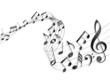 Zdjęcia na płótnie, fototapety, obrazy : Music sheets