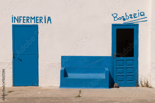 Leinwanddruck Bild Asinara