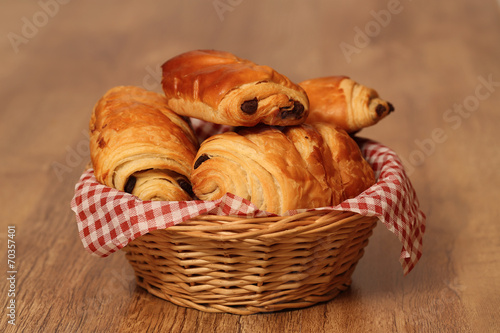 Papiers peints Biscuit pain au chocolat