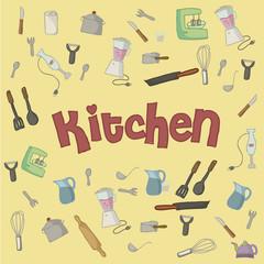 kitchen background color