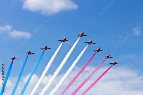 Fotobehang Vliegtuig Airshow