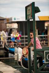 Gondelstation Venedig