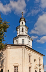 Saint Nicolas the Wonderworker church (1706). Poltevo, Russia