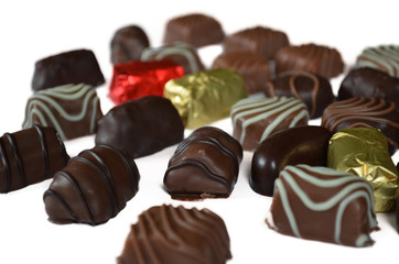Dark and Milk Chocolate Candies