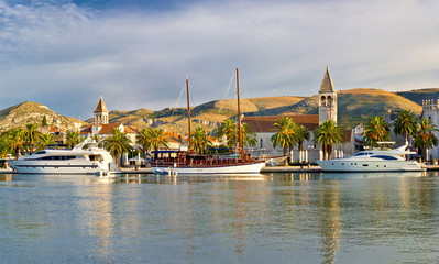 UNSCO town of Trogir waterfront