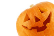 Leinwanddruck Bild - Jack O Lantern halloween pumpkin