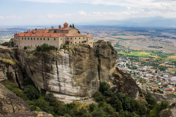 The Metéora in Central Greece