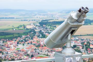 Telescope on the castle