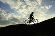 dik tepelerde bisiklet sürmek