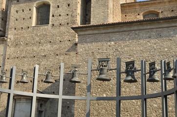 Church bells in Valeggio sul MIncio, Italy