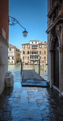 View to Grand Canal in Venice ,Italy