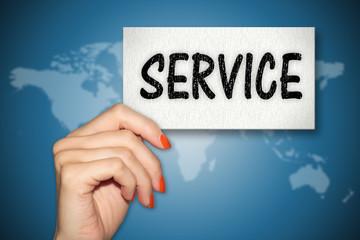 Karte - Service