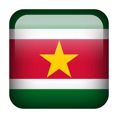 Suriname square flag button