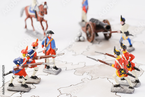 canvas print picture Tin soldiers