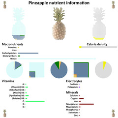 Pineapple nutrient information