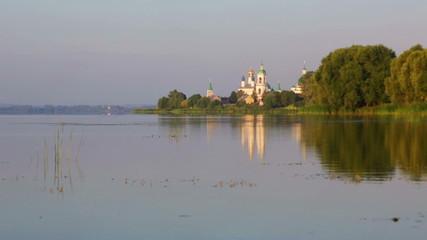 View of the Monastery of St. Jacob Saviour and Nero lake