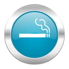 cigarette internet blue icon