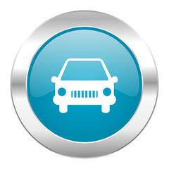 car internet blue icon