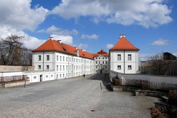Schloss Hirschberg, Naturpark Altmühltal, Bayern, Fränkische Alb