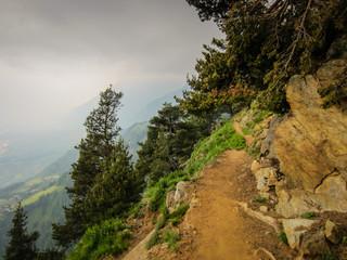 Meraner Höhenweg Vellauer Felsenweg