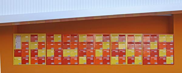 boîtes aux lettres d'une résidence