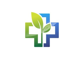 medicine pharmacy,logo,health,icon,cross,plants,plus,nature