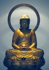Strahlender, ruhiger Buddha