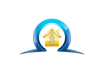 house,dollar,logo,home,money,finance,gold,omega