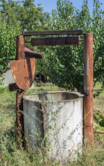 Old rusty Water Well