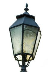 Lampione singolo, lanterna illuminazione pubblica