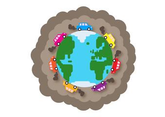 World Traffic Pollution